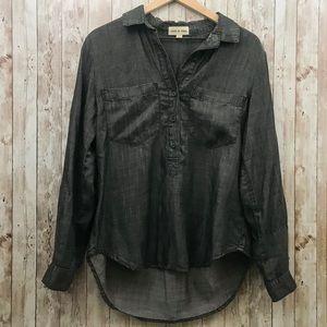 Anthropology Cloth & Stone Chambray Shirt